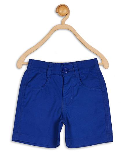 Baby League Twill Shorts - Blue
