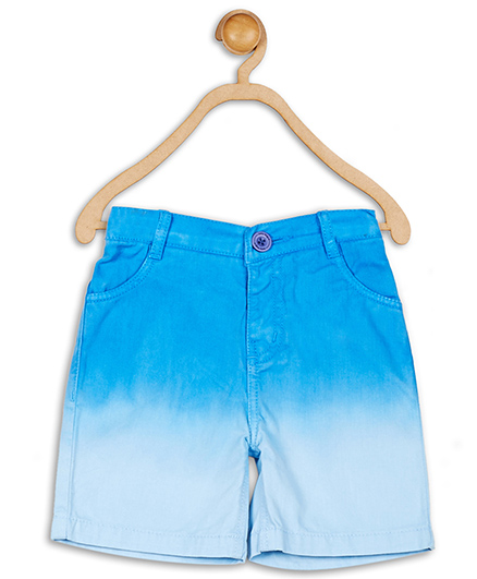 Baby League Ombre Effect Shorts - Blue