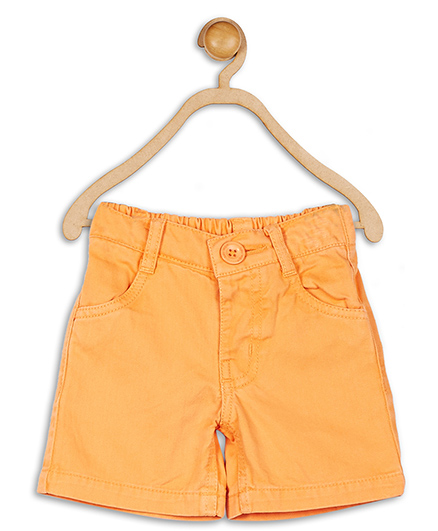 Baby League Elasticated Shorts - Orange