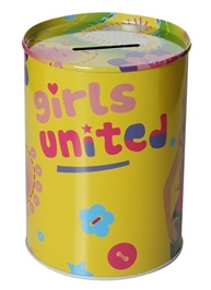 Barbie Coin Bank - Girls United