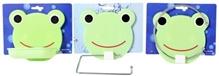 Fab N Funky - Frog Pattern Bathroom Accessory Set