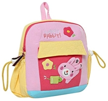 Fab N Funky Kids Bag - Rabbit print