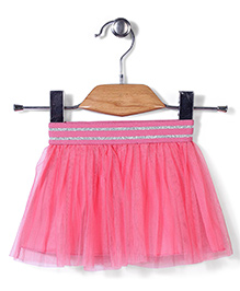 UCB Party Wear Pull On Skirt - Pink