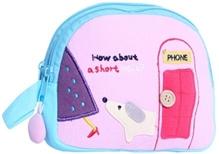 Kids Bag - Phone Print Pink Colour