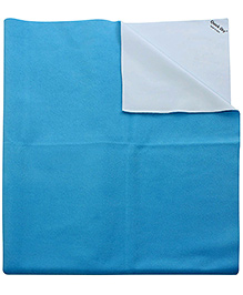 Quick Dry Bed Protector Large Blue - 140 x 100 cm