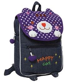 Fab N Funky Kids Bag - Happy Cat