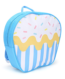 The Eed Stylish & Appealing School Backpack - Blue & White