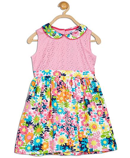 612 League Sleeveless Mix N Match Dress - Multicolor