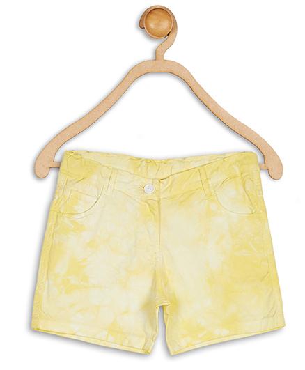 612 League Shorts Twill Tye & Dye - Yellow