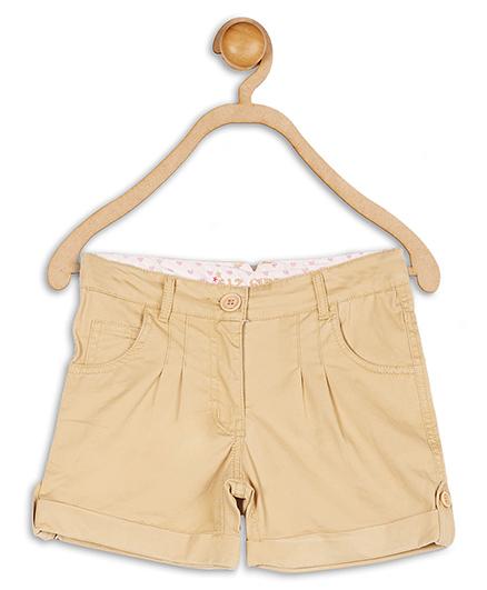 612 League Twill Shorts With Pleat - Khaki