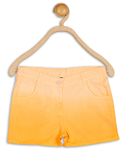 612 League Ombre Twill Cotton Shorts - Orange