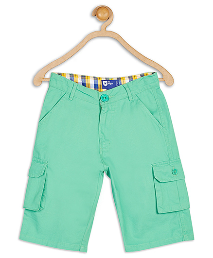 612 League Cotton Knee Shorts - Green