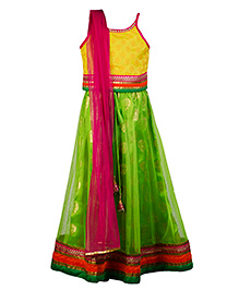 Twisha Lehanga Choli Dupatta Set - Yellow