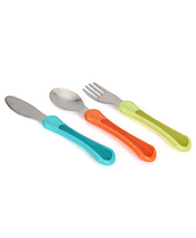 Tommee Tippee Explora First Grow Up Cutlery Set - Pack Of 3