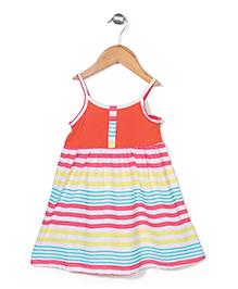 Wonderchild Pretty Stripe Dress - Multicolor