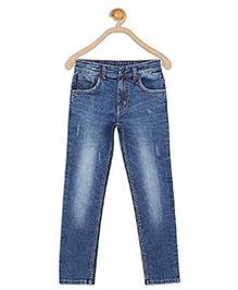 612 League Full Length Jeans - Dark Blue