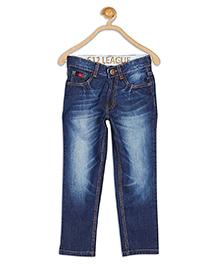 612 League Full Length Denim Jeans - Blue
