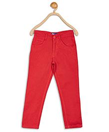 612 League Full Length Pants - Red