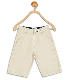 612 League Solid Color Shorts - Cream