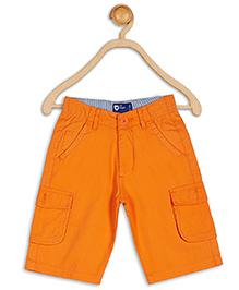 612 League Twill Knee Cargo Shorts - Orange
