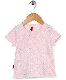 Miss Pretty Floral Top - Pink