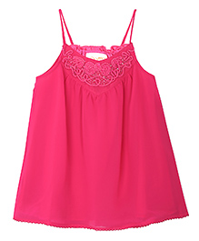 FS Mini Klub Singlet Top Sequin Detailing - Pink