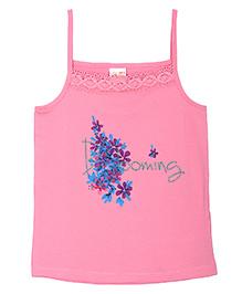 FS Mini Klub Singlet Slip Floral Print - Pink