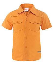 FS Mini Klub Half Sleeves Shirt - Orange
