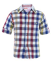 FS Mini Klub Full Sleeves Check Shirt - Multicolour