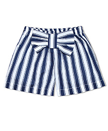 Soul Fairy Stripes Shorts - Navy Blue