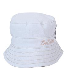 Little Wonder Bucket Hat - White