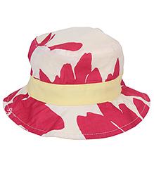 Little Wonder Printed Bucket Hat - Pink