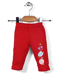 Tango Track Pant Fruit Print - Red