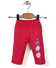 Tango Track Pant Fruit Print - Pink