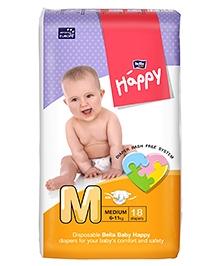 Bella Baby Happy Diapers Medium - 18 Pieces