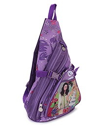 Disney Princess Body Strap Sling Rapunzel Print Purple - 14.5 Inches