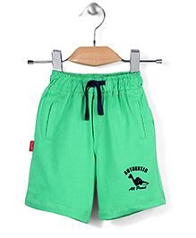 Spark Casual Shorts Authentic Print - Green