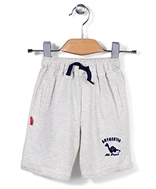 Spark Casual Shorts Authentic Print - White