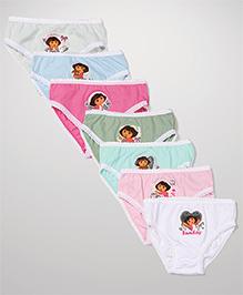 Dora Panties Set of 7- Multicolour