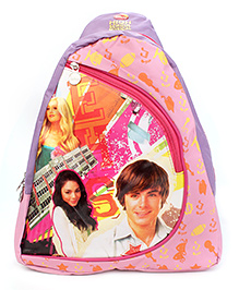 Disney Triangle Style Body Strap Sling Bag Pink - 17 Inches