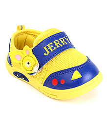 G & D Casual Shoes Animal Motif - Royal Blue Yellow