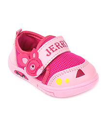 G & D Casual Shoes Animal Motif - Pink