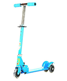 Surya 3 Wheel Scooter With LED Lights - Blue