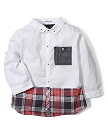 Kidsplanet Striped Shirt - White