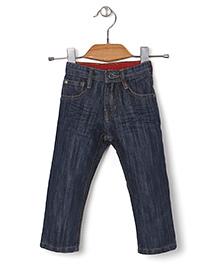 Kidsplanet Stylish Denim Pant - Navy Blue