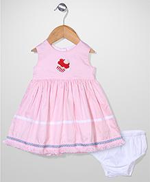 Bebe Wardrobe Ice Cream Print Dress - Pink