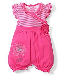 Wonderchild Mini Sweet Print Romper - Pink