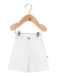 Coo Coo The Sumer Formal Shorts - White