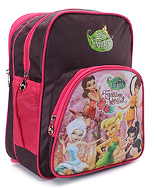 Disney Fairies School Backpack Brown - 13 inches