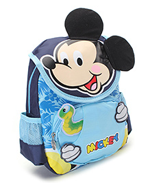 Disney Mickey Mouse School Backpack Blue - 11 inches